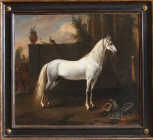 Jan Wyck - The Grey Arabian